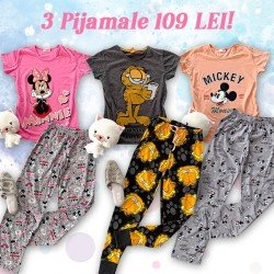 3 pijamale 109 RON!