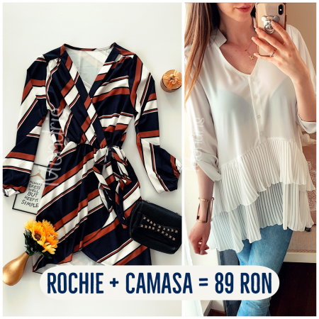 Best Offer! Rochie + camasa = 89 RON!