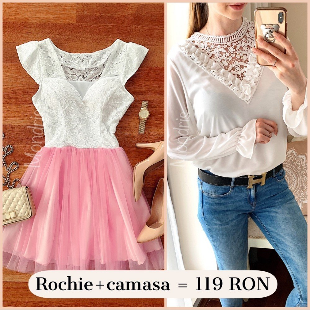 Best Offer! Rochie + camasa = 119 RON